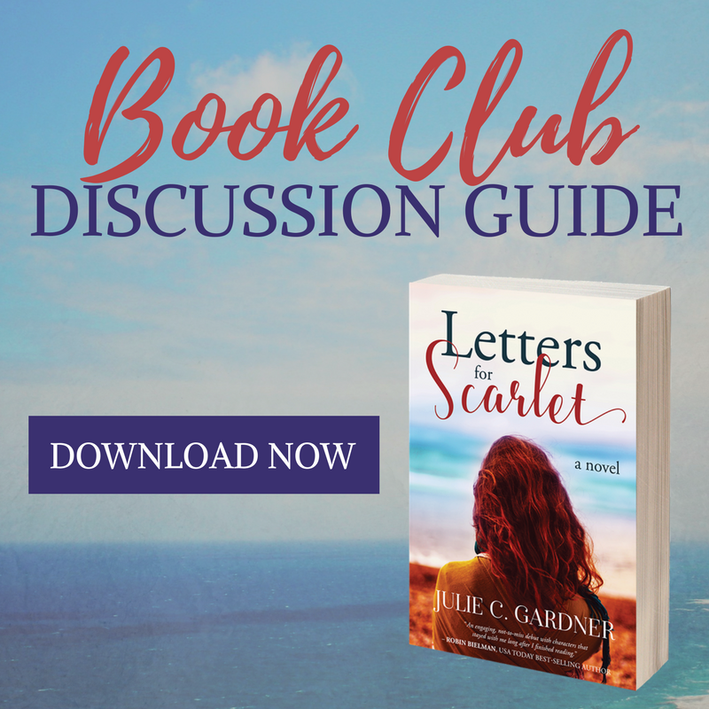 Letters for Scarlet Book Club Discussion Guide